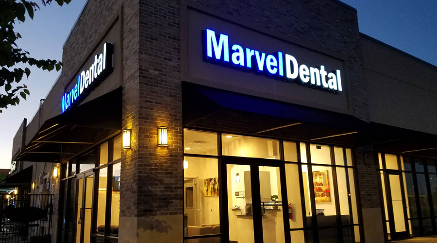 Exterior look of Marvel Dental in Burleson, TX