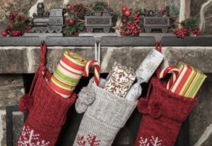 Stockings filled with smile-friendly gifts recommended by Burleson dentist